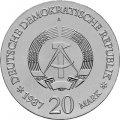 DDR Münze 20 Mark