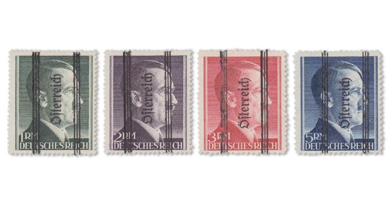 Österreich - Hitler-Markwerte (Mi. Nr. 693-96)