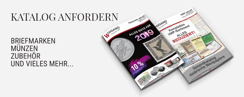 Katalog Bestellung Waigand Sammlerwelt