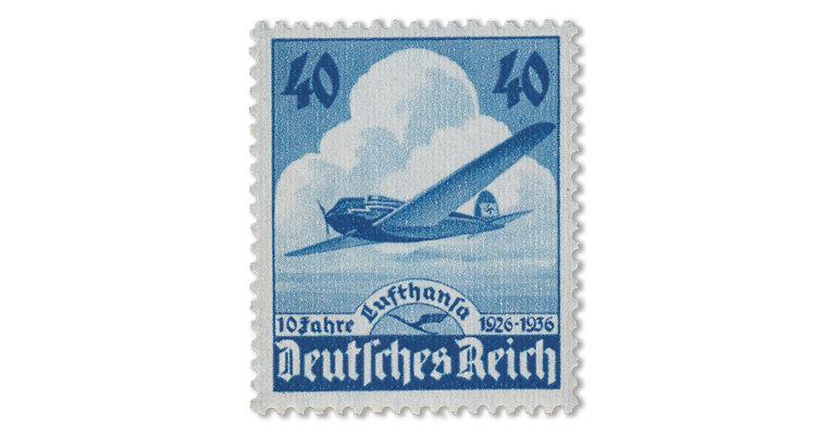 Deutsches Reich -Jubiläum 10 Jahre Lufthansa von 1936 (Mi. Nr. 603)