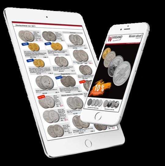 Online Katalog für Münzen epub für Smartphone & Tablet