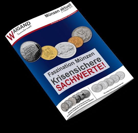Katalogcover Münz-Katalog Juli-Dezember 2019