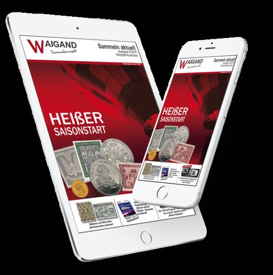 Online Katalog / Blätterkatalog Briefmarken & Münzen epub für Smartphone & Tablet