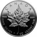 Silber-Anlagemünze Maple Leaf Kanada