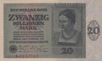 Zwanzig Millionen Mark Weimar