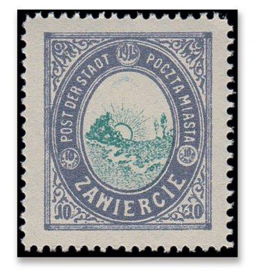 Briefmarken aus Zawiercie