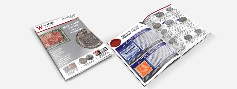 kostenlose online briefmarken und m nzkataloge waigand. Black Bedroom Furniture Sets. Home Design Ideas