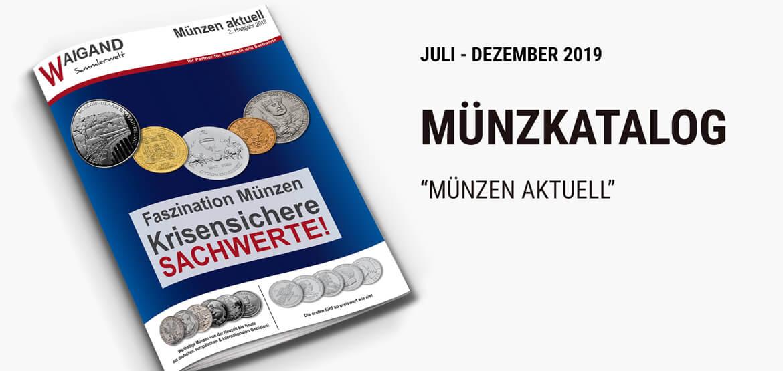 News Teaser Münz-Katalog 2 Halbjahr