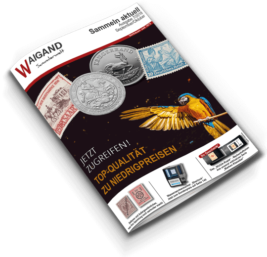 Katalogtitel September/Oktober 2018 Sammeln aktuell